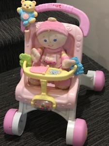 Poussette jouet pour bébé