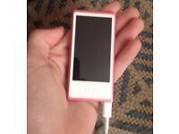 Pink iPod Nano 7th Gen