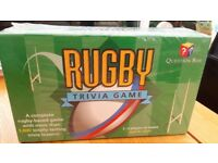 Rugby trivia game