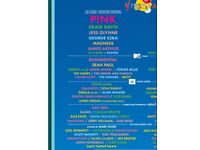 V Festival Ticket Saturday 19th August Hylands Park