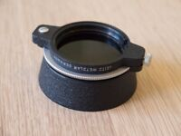 Leica Leitz E39 39mm Swing Hood / Polarising Filter