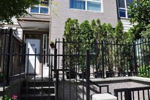 Modern townhouse accessible by public transit & close to schools