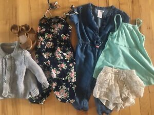 12-18m girls clothes and shoes lot