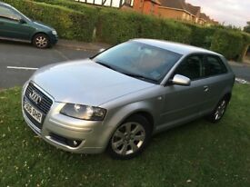 2006 AUDI A3 2.0 TDI SPORT 3 DOOR 12 MONTHS MOT ALLOY WHEELS AUTO LIGHTING CHEAP CAR!! BARGAIN!!!