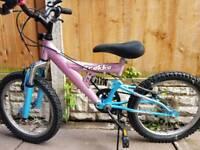Girls mountain bike 6 speed