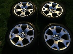 """2003 BMW X5 OEM 19"""" Rims and Tires"""