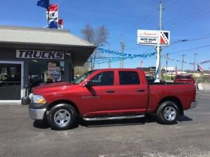 2012 Ram 1500 ST FULL CREW CAB 4X4 !! WE FINANCE !!