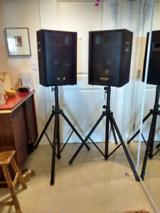 """12"""" Two way Stage/Floor Monitor Speaker with tripod"""