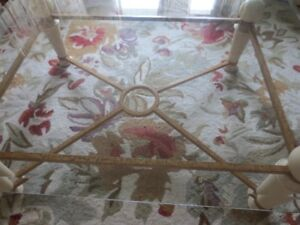 Glass top, Large Coffee Table