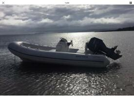 Rib / Rib Boat / Rigid Inflatable / 5.2m Yamaha F60 Four Stroke.