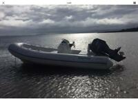 Rib / Rib Boat / Rigid Inflatable / 5.2m Yamaha F60 Four Stroke.