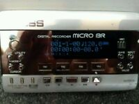 Boss micro BR! best recorder for home use! used and in perfect working order + lots of free gear