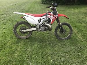 Cr 250  trade for sled