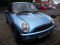55 plate 2005 mini one diesel 1.4 manual 90k only fsh drives superb