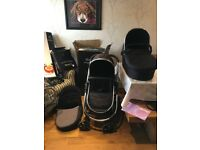 Icandy strawberry pushchair- travel system EXCELLENT condition
