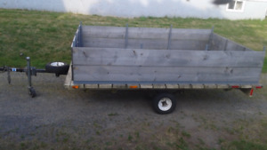 Large utility trailer for sale