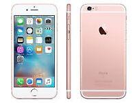 Sim Free IPhone 6S Rose Gold 16GB