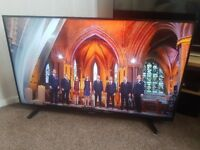 "50"" TV LED Hisense FullHd with HD Freeview"