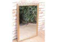 Large gilt mirror (Delivery)
