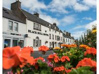 Bar/Waitressing - Busy little Hotel in the Heart of Lauder just 25 mins from Edinburgh By Pass