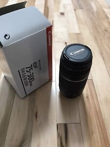 canon ultrasonic 75-300mm lens