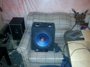 """12"""" Kenwood subwoofer 500 watts trade for 10"""""""