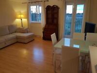 Furnished 2 bedroom flat to rent. En suite bedrooms