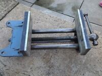 VINTAGE RECORD NO.52 WOODWORKING QUICK RELEASE VICE