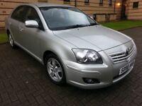 ★ 1 OWNER, FULL YEARS MOT★ SEPT 2006 Toyota Avensis 1.8 T3-X 5dr ★ GOOD COND'N,SERV HIST,like vectra