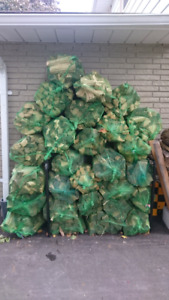 FIREWOOD BAGS FOR SALE