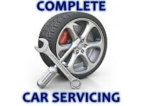 Car servicing and mot preparation at competitive prices. Full filter start at £30 plus parts