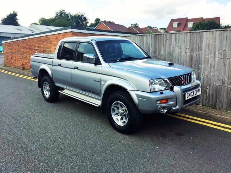 2003 Mitsubishi L200 2.5 TD Warrior Limited Edition Crewcab Pickup 4dr ONLY 57K