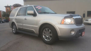 LINCOLN NAVIGATOR 4X4 *** FULLY LOADED *** CERTIFIED $6995