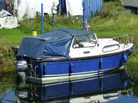 HARDY 17 PH BOAT FOR SALE
