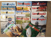 14 Lure Angling Magazines LAS Lure Anglers Society Fishing