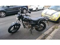 Zontes Tiger 125cc Learner Legal Motorcycle