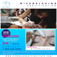 MICRO BLADING TRAINING CERTIFICATION