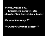 Private or Group Tuition Maths, Physics and ICT-AS/A-Level, GCSE, Key stages and Adult Learning