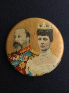 Edward VII - Button Pin