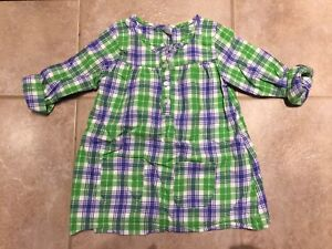 4T Carter's Plaid Tunic