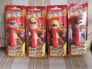 COLLECTORS! COMPLETE SET pez dispensers NEVER OPENED
