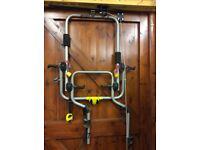 Bike carrier for 2 bikes for a 4x4 for rear wheel