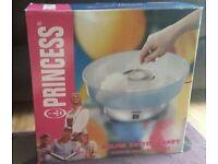 Princess Silver Cotton Candy Machine