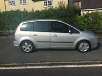 FORD CMAX 2008 1.6 diesel 136000 Mot and tax Service history , 55 MPG, ECONOMICAL. CHEAP TAX.