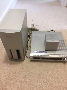 Sony Home Theatre System and Subwoofer