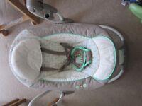 Ingenuity baby swing, used