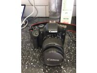 Canon EOS 550d with 18-55 Lens, barely used