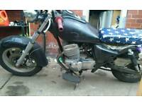 Cheap runaround (250cc rat,bobber, hack)