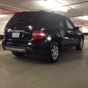 2006 Mercedes-Benz M-Class V.6 engine low Km SUV,