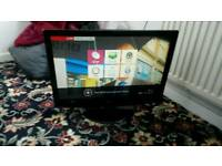 LG 22 inch screen hd led free view tv £ 40